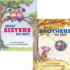 Thumbnail image for What Sisters Do Best/What Brothers Do Best by Laura Numeroff