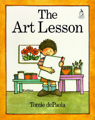 Post image for THE ART LESSON, by Tomie dePaola
