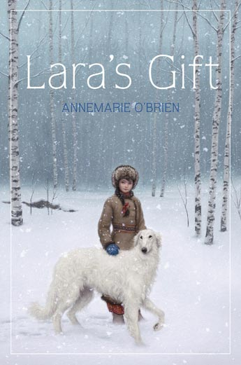 Post image for LARA'S GIFT Author Annemarie O'Brien and Her Real-Life Dogs!