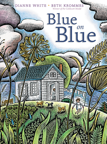 Post image for Author in Residence: ReaderKidZ' Own Dianne White on her Debut, BLUE ON BLUE