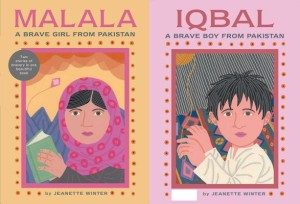 Malala, a Brave Girl by Jeanette Winter