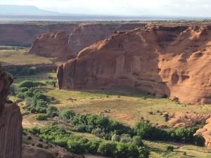 Navajo canyon high desert