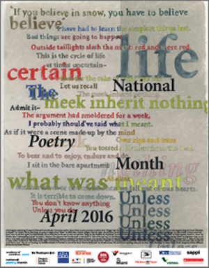 Post image for National Poetry Month