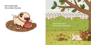 pug-meets-pig-yard